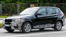 2014 BMW X3 M Sport facelift spy photo 15.10.2013