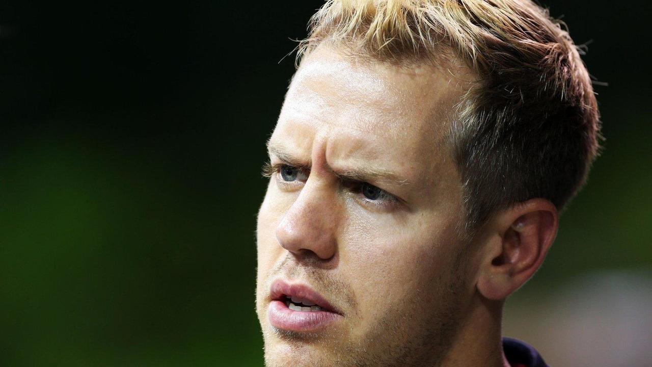 Sebastian Vettel 19.09.2013 Singapore Grand Prix