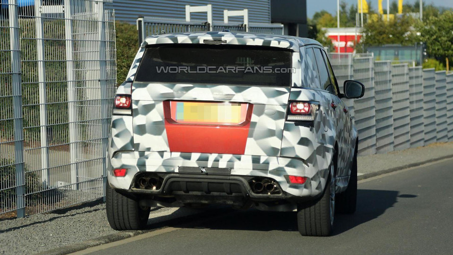 Range Rover Sport RS caught on Nurburgring [video]