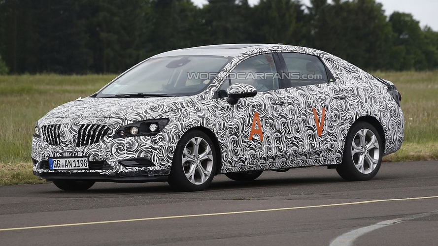 2016 Buick Verano / Excelle spied for the first time