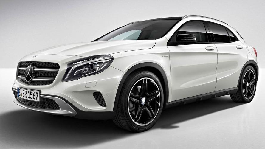 Mercedes-Benz GLA Edition 1 announced