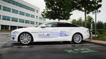 The ultra-low carbon Jaguar XJ_e plug-in hybrid
