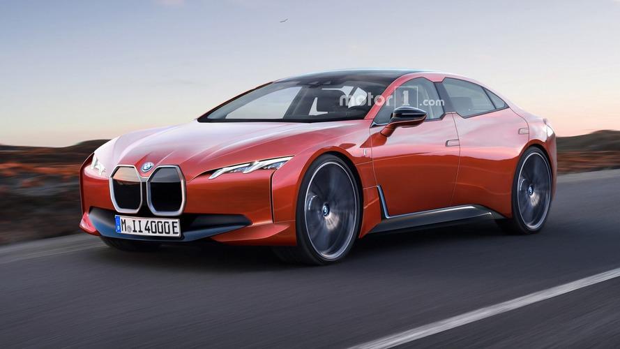 2020 BMW i4 Render
