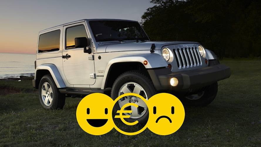 Promozione Jeep Wrangler, perché conviene e perché no