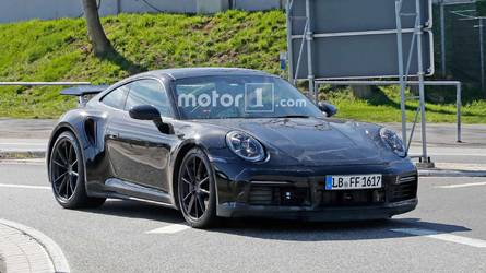Next-Gen Porsche 911 Turbo Spied Looking Dirty At The 'Ring