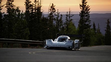 Alaposan odatette magát a Volkswagen I.D. R Pikes Peak az időmérőn
