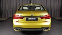 BMW M760Li xDrive Austin Yellow
