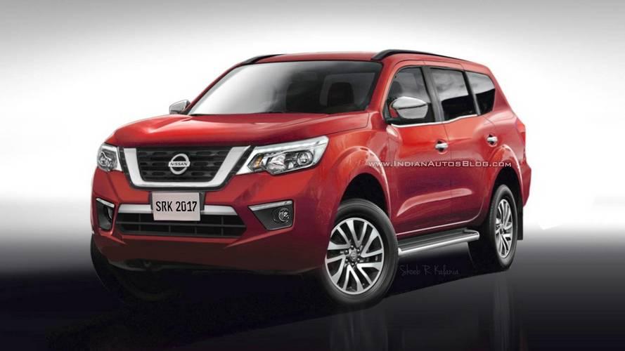 Nissan Paladin tasarım yorumu, yaklaşan Navara SUV'u işaret ediyor