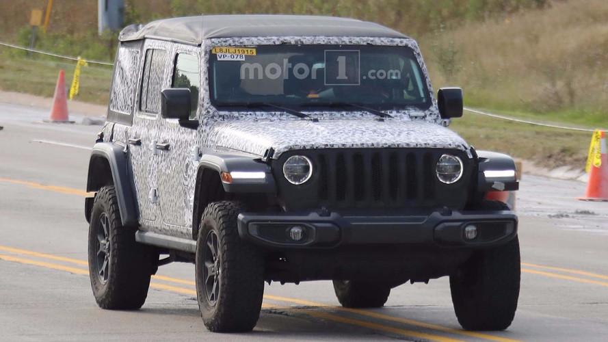 Jeep Wrangler konvoyu fotoğrafçılara yakalandı