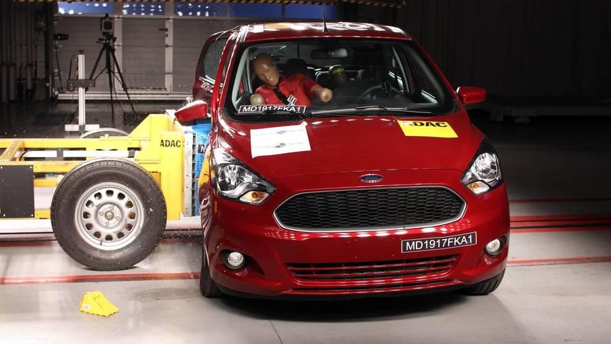 Ford Ka e Ka+ zeram em novo teste de colisão do Latin NCAP