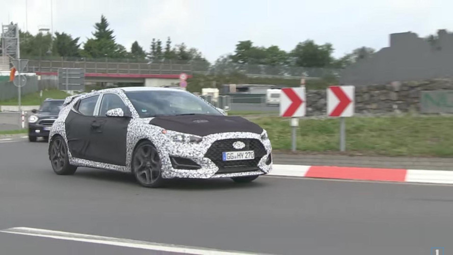 Hyundai Spied On Video Taking Two Next-Gen Velosters On The 'Ring