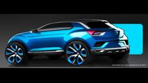 VW T-ROC Concept 2014 Design Sketches