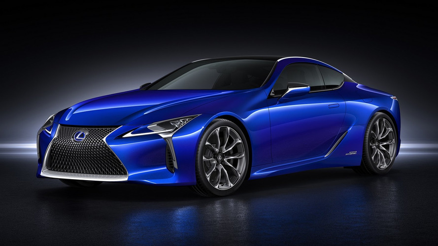 Lexus LC 500h detailed, packs 354 hp [video]