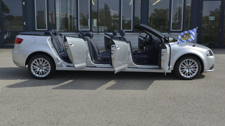 Audi Deutschland showcases A3 Cabrio with six doors