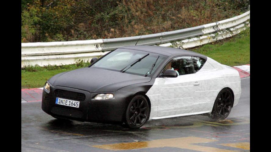 Audi A5 als Erlkönig erwischt: 2+2-Sitzer startet schon 2007
