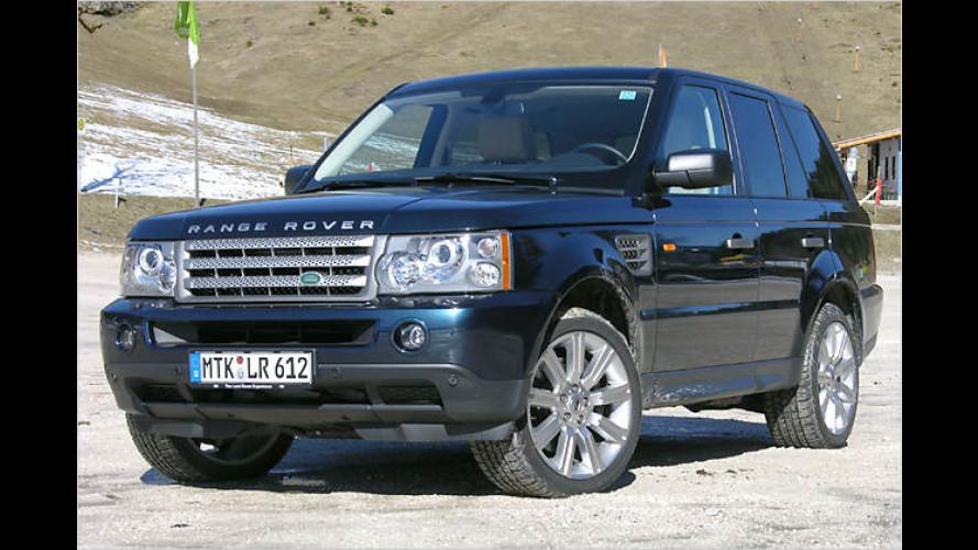 Per Diesel ins Abenteuer: Range Rover Sport TDV8 – im Test