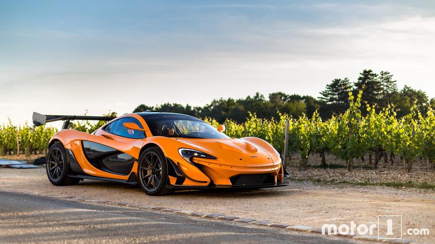 PHOTOS - La McLaren P1 LM