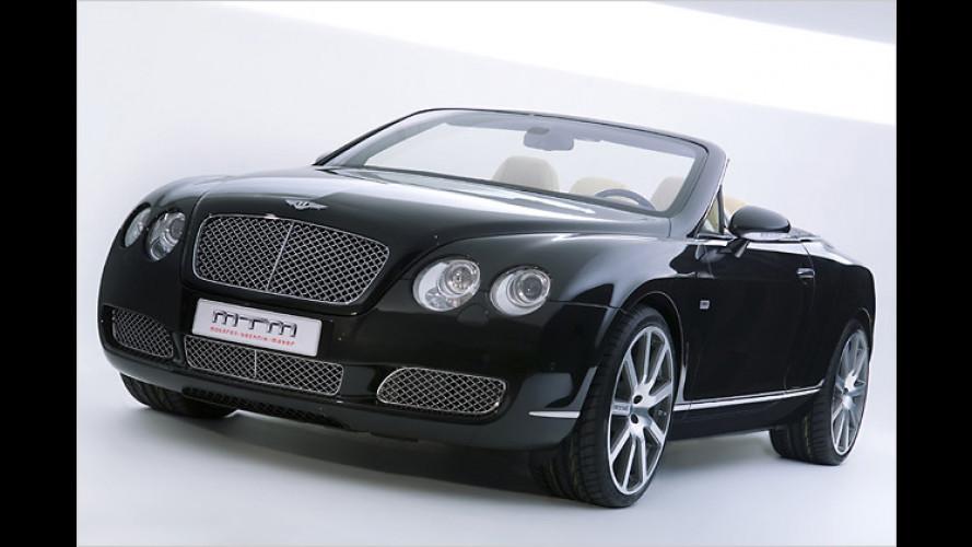 Edel und stark: Bentley Continental GTC von MTM