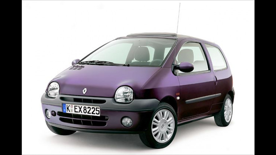 Renault: Rhombus-Öffner für das Heck des Twingo