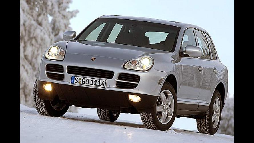 Preisanstieg bei Porsche für die Cayenne-Modelle