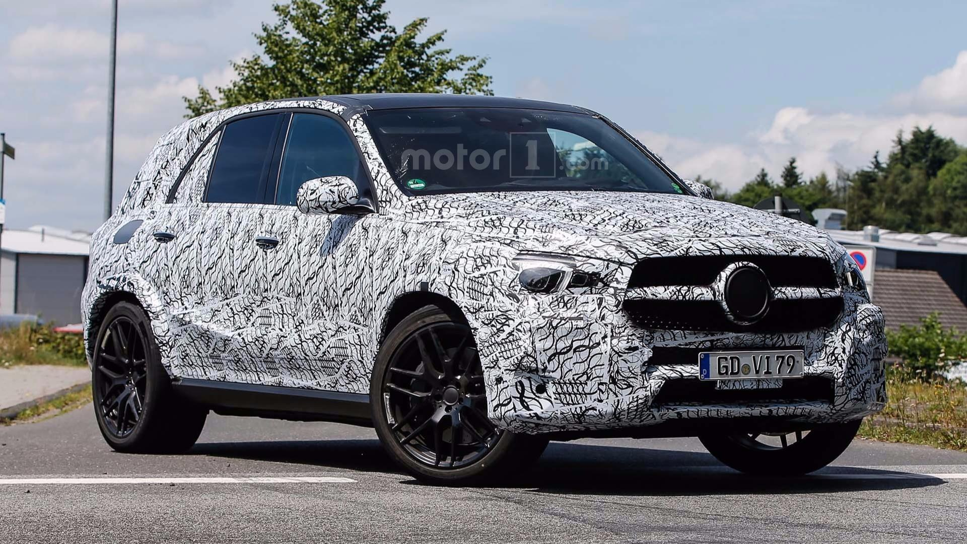2020 Mercedes Benz Gle 63 Amg Spied For The First Time