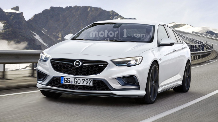 New Opel Insignia OPC Rendered, Will Most Likely Happen