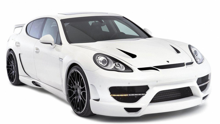 Wide-body kit for the Porsche Panamera by Hamann