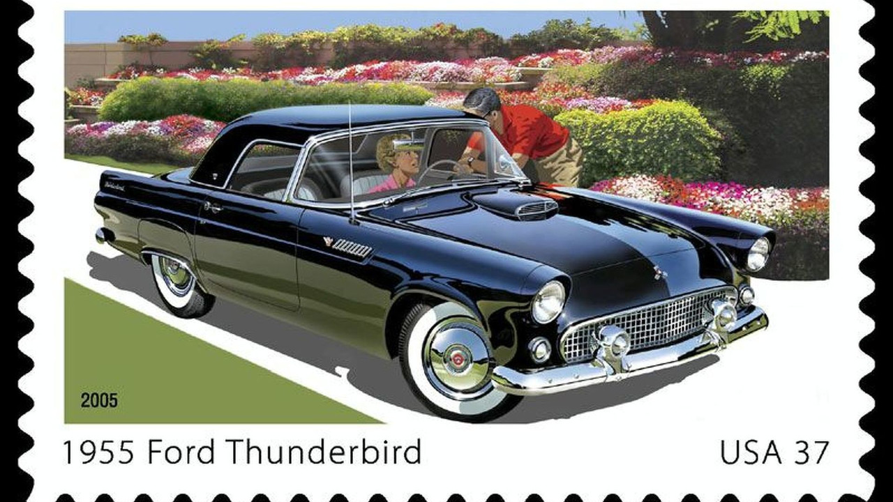Ford Thunderbird US Postage Stamp