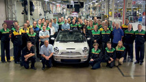 Last MINI Cabrio in Oxford plant