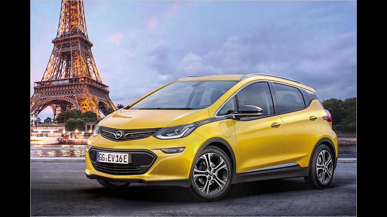 Opel unter Strom