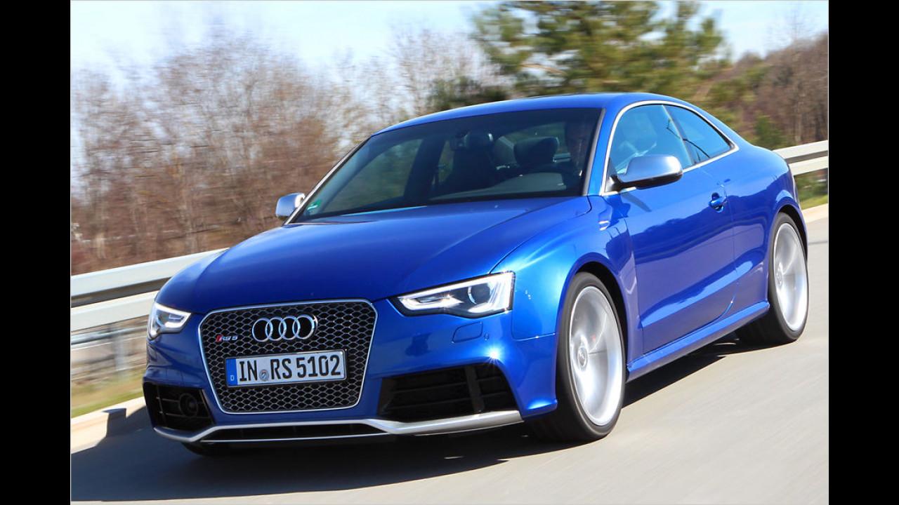 Platz neun: Audi RS 5