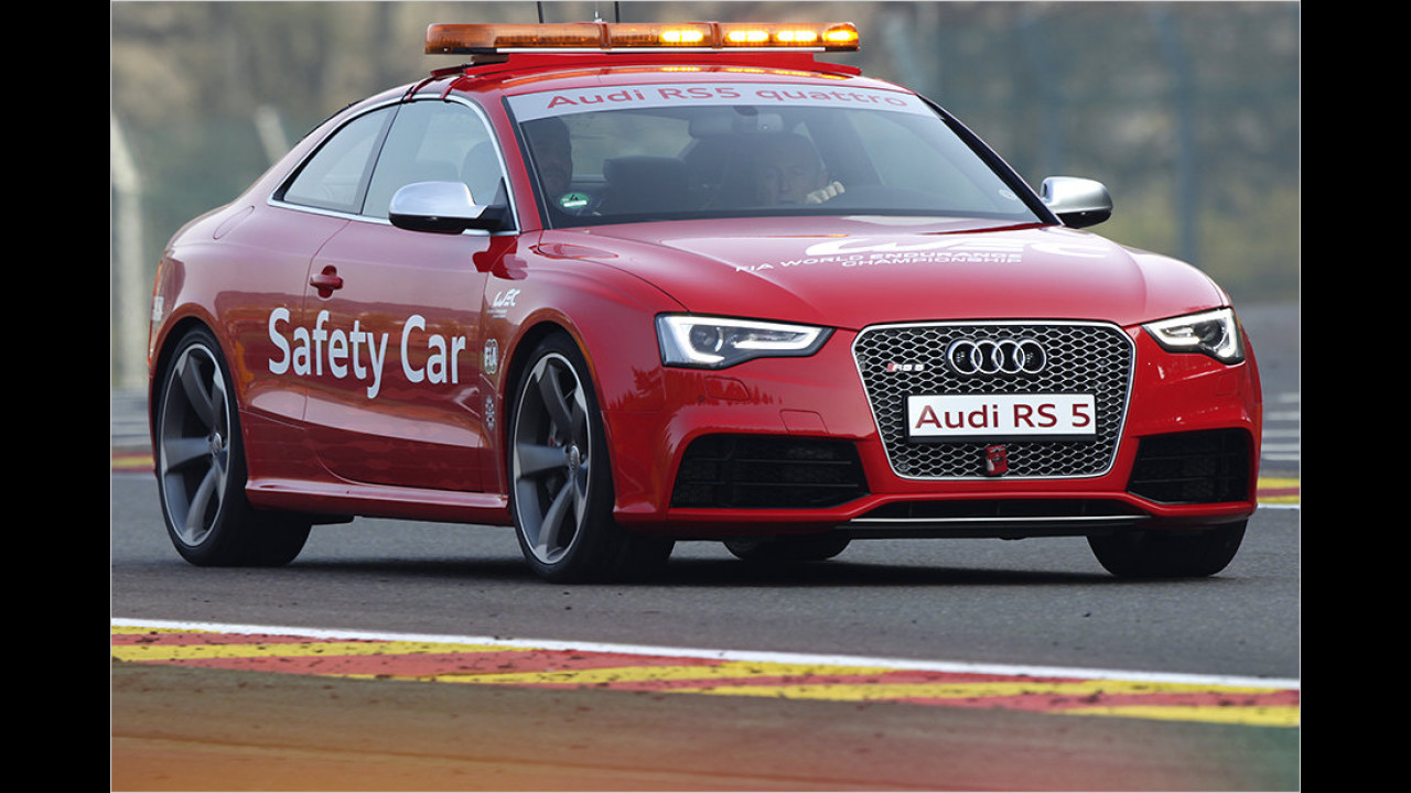 Langstrecken-WM 2012: Audi RS 5