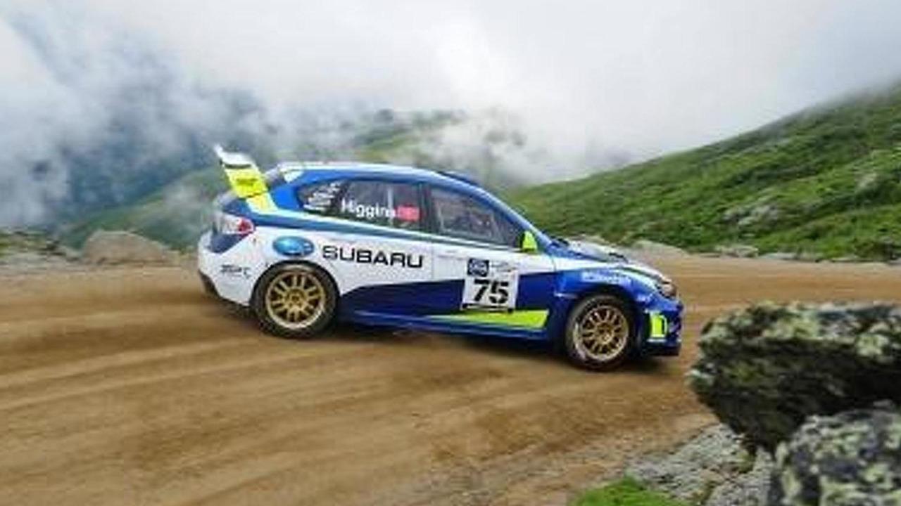 David Higgins Subaru Rally Team USA Mt. Washington climb 10.08.2011