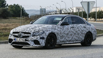 Mercedes-AMG E63 spy photo