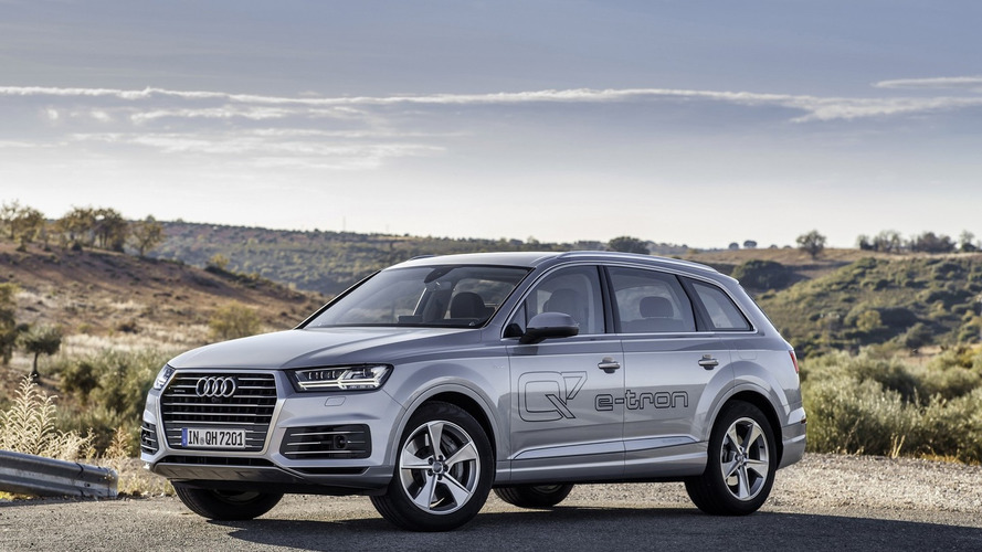 Audi Q7 e-tron 3.0 TDI quattro priced from €80,500, new images released