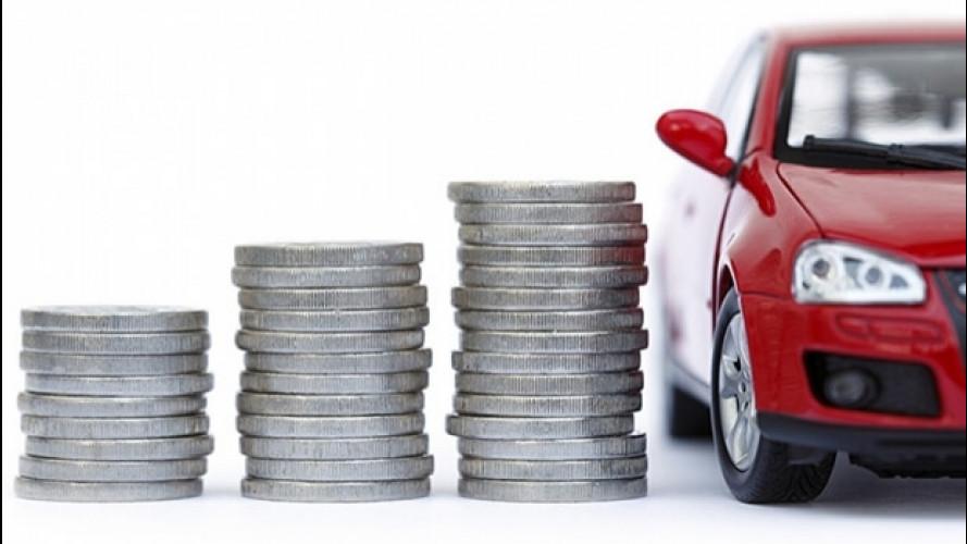 Auto, ogni anno ci costa 3.800 euro