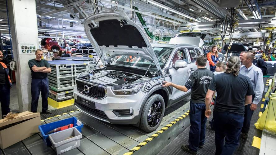 2018 Volvo XC40 Production Kicks Off In Belgium