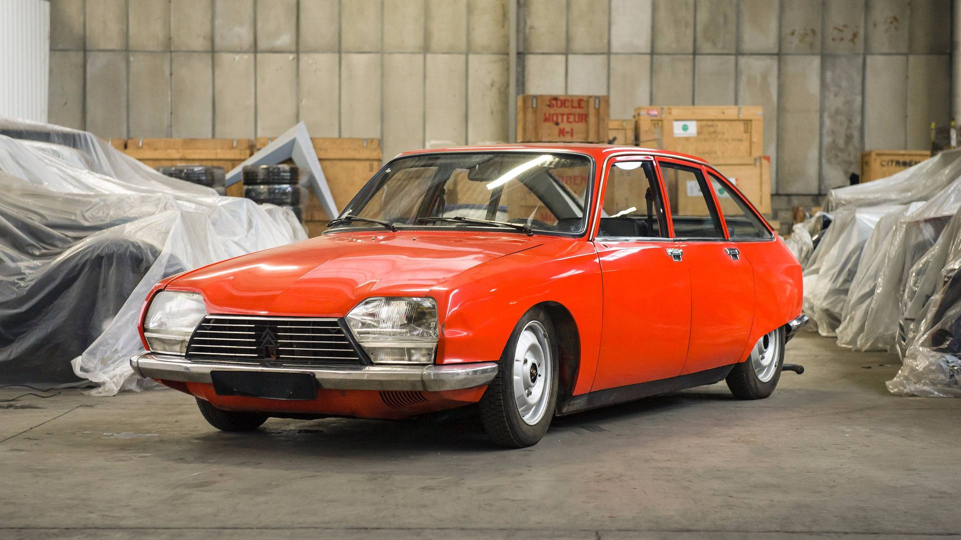 The 65 Cars From The Citroën Heritage Collection Have Been Sold
