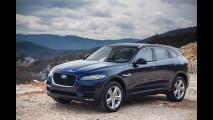 Jaguar F-Pace, l'inglese e le altre