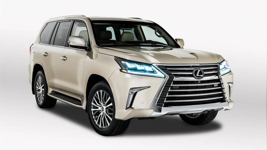 Tehetős üzlettulajdonosok és túrázók autója lehet a két üléssoros Lexus LX 570