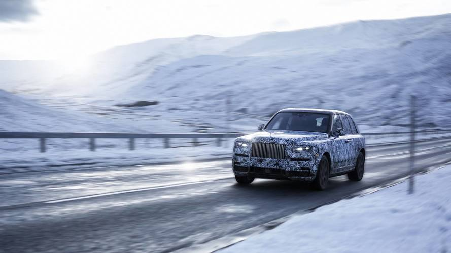 Rolls-Royce Cullinan 2019 - Teaser