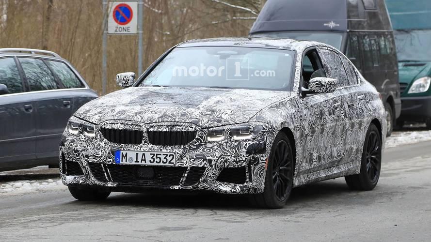 BMW Serie 3 2018: fotos espía en Múnich