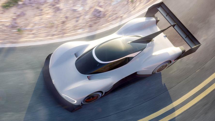 VW-Elektroauto fährt Pikes-Peak-Rennen