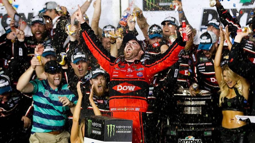 Daytona 500: Austin Dillon Takes Emotional Win After Chaotic Last Lap