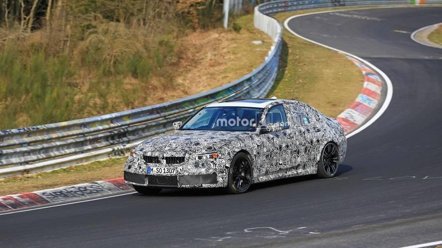 Yeni BMW M3, kamuflajları ile Nürburgring'de idi