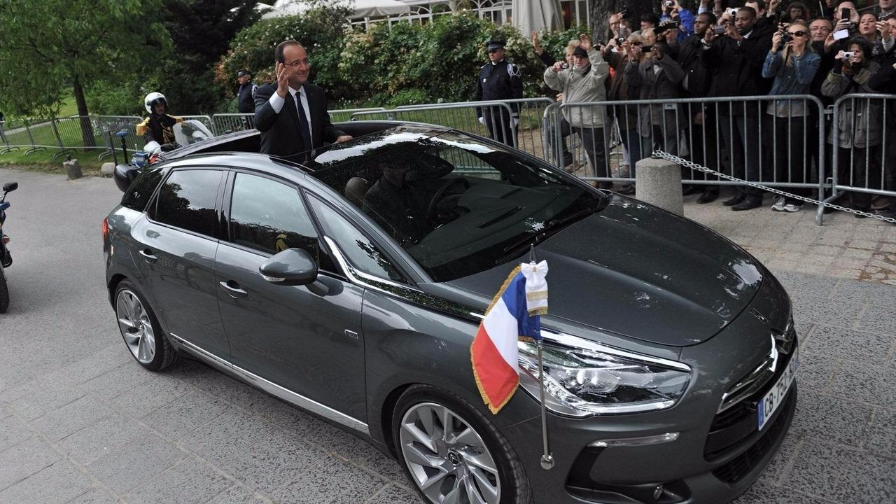 DS 5 Francois Hollande