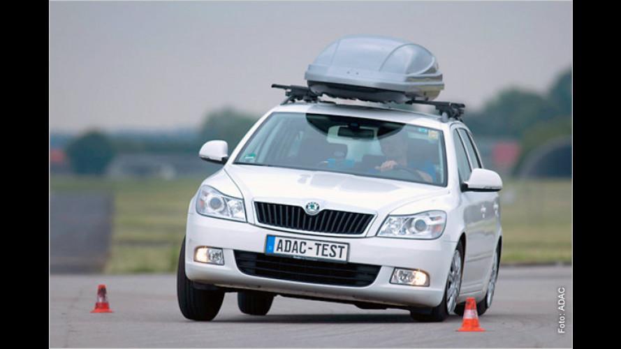 ADAC-Test: So beladen Sie Ihr Auto richtig