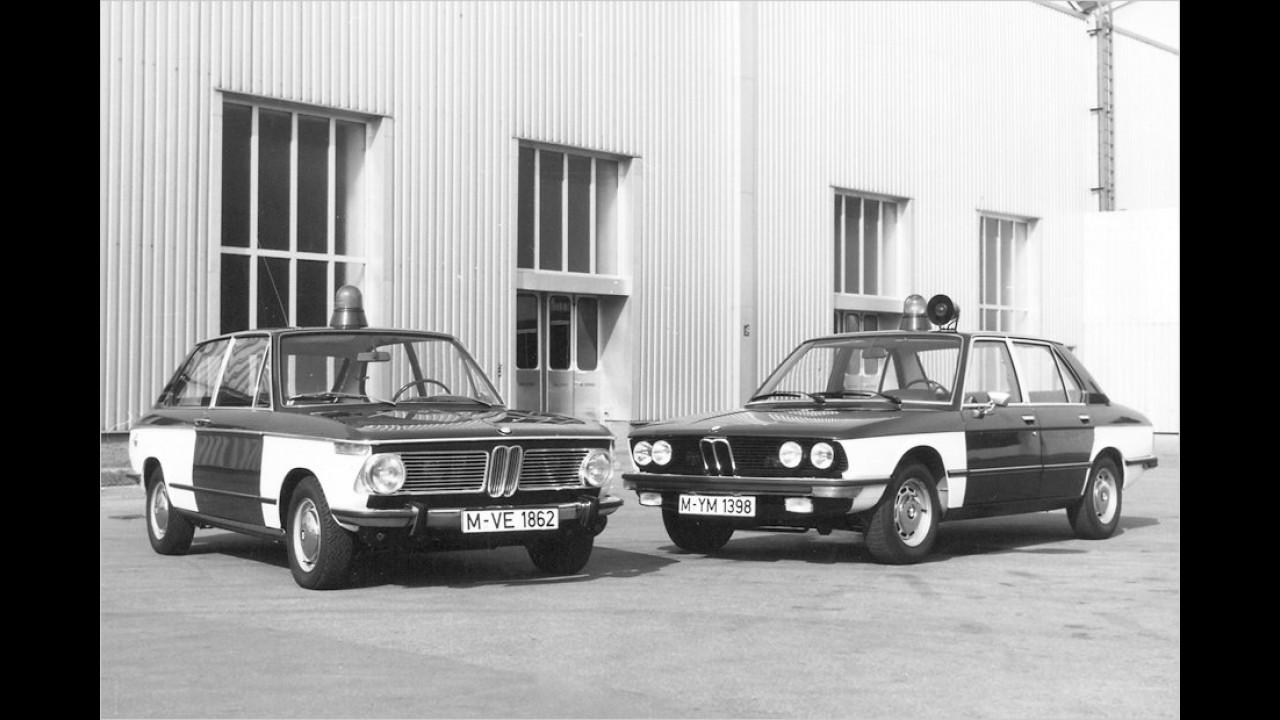 BMW Tourinig 1800 und 5er (1972)