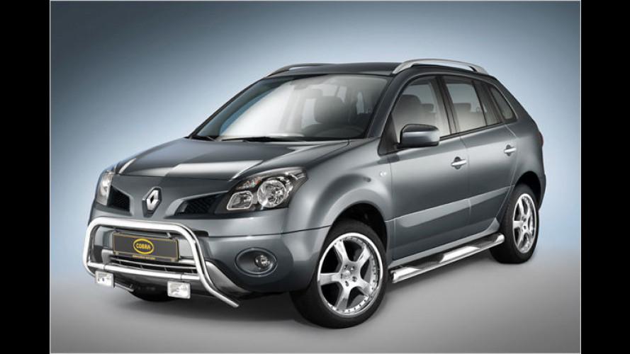 Cobra macht den Renault Koleos zum Koloss
