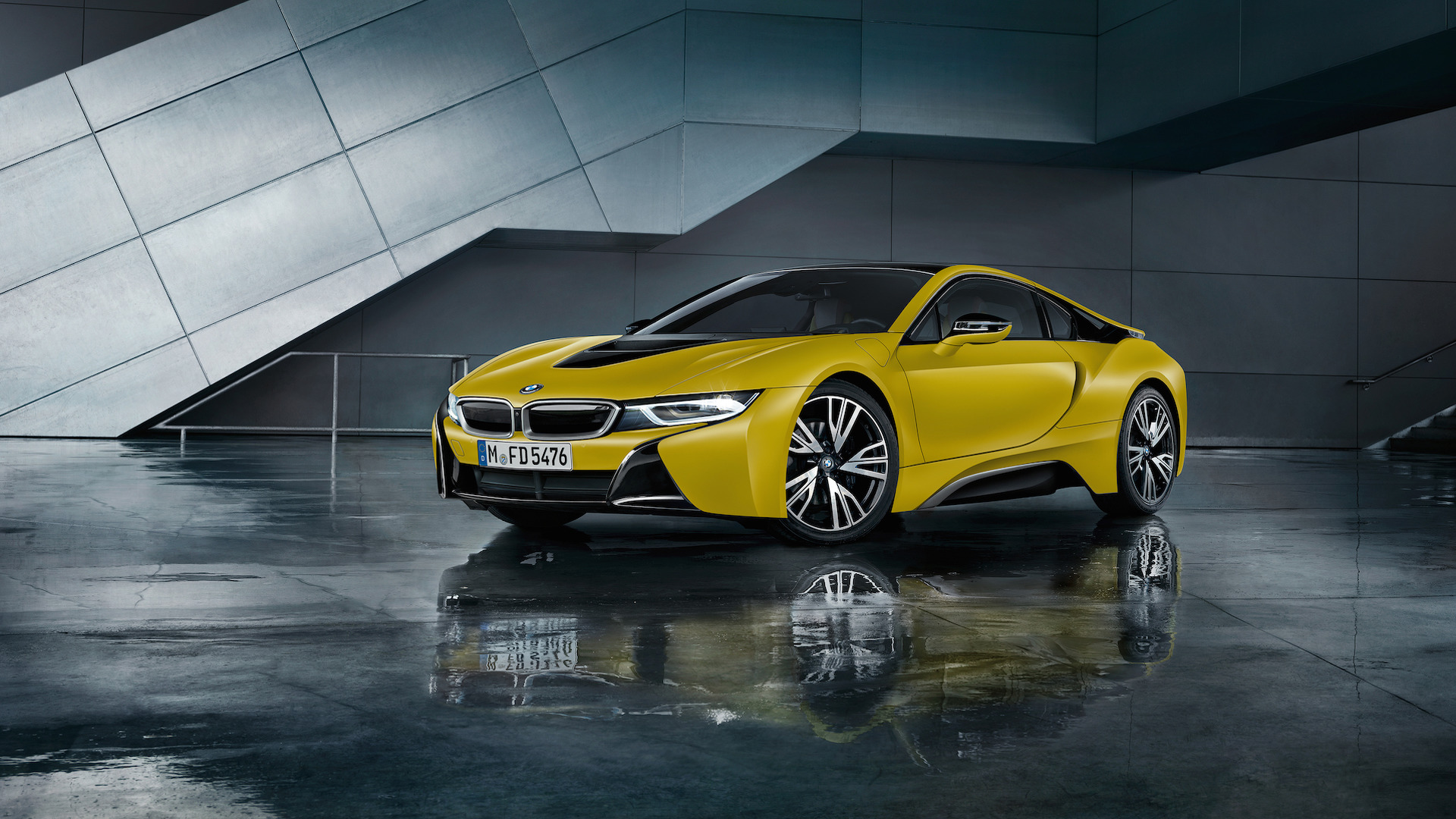 Cool New BMW I Frozen Editions Coming To Geneva - Cool yellow cars